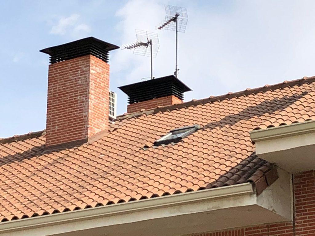 arreglo de chimeneas en Biblao y Vizcaya tejados Bilbao