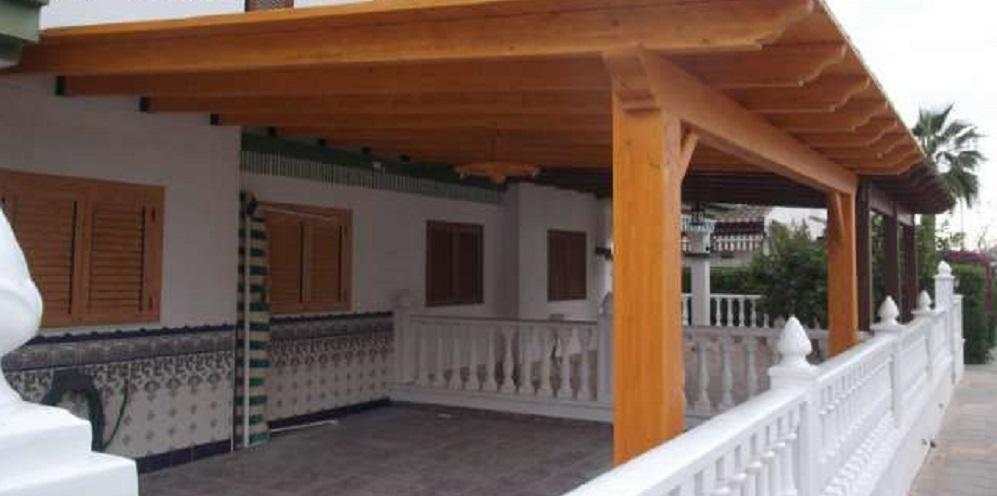 estructura de madera en Bilbao