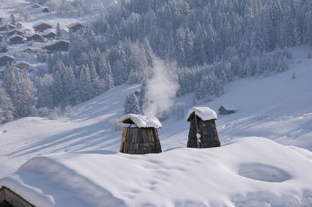 arreglo de chimeneas en Bilbao en invierno