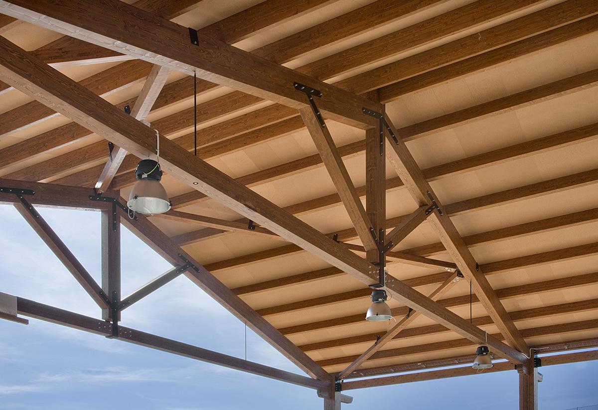Estructura de madera en Bilbao en caserio o baserri