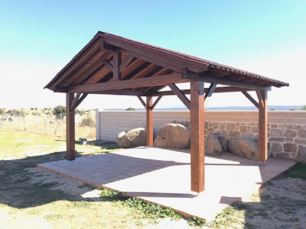 Pergola de madera tejados bilbao estructura de madera en bilbao