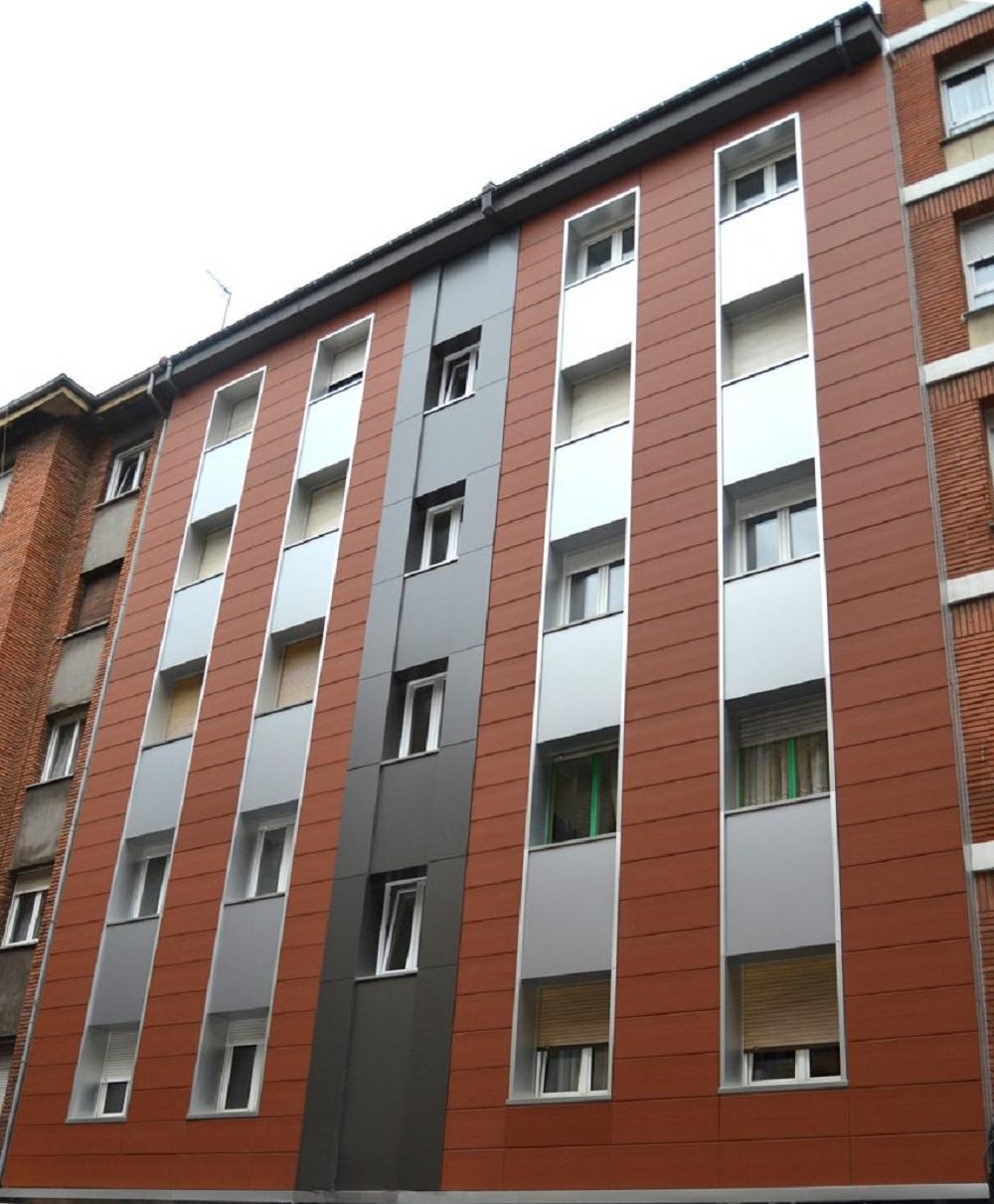 Rehabilitacion de edificio en Bilbao
