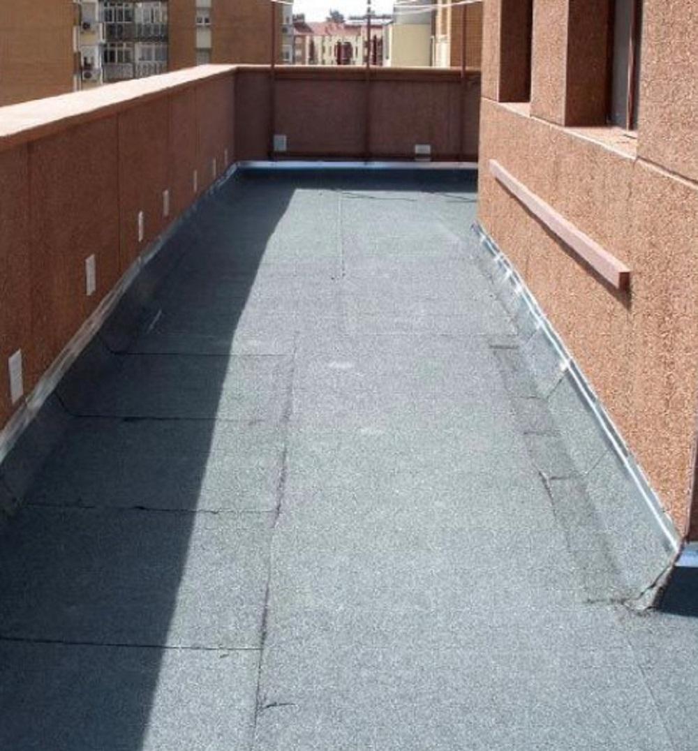 impermeabilizacion de terraza en Bilbao